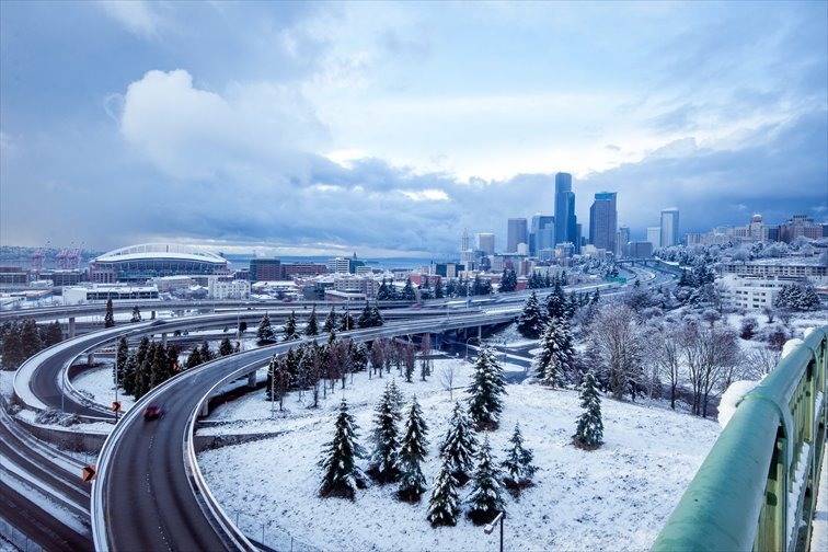 シアトルの気温・気候