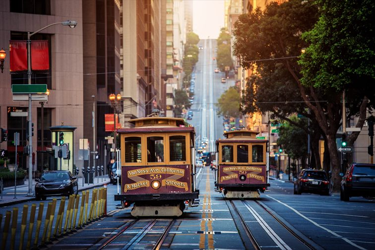 サンフランシスコでの移動手段