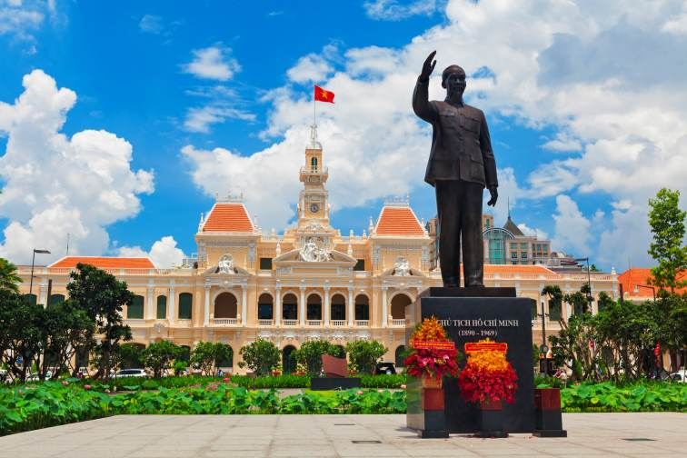 he Ho Chi Minh City People's Committee Hall1