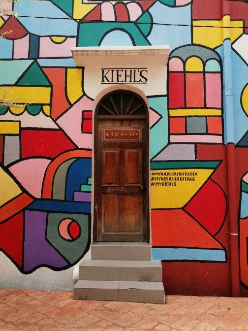 アメリカのスキンケアブランド「Kiehl's(キールズ)」のストリートアート