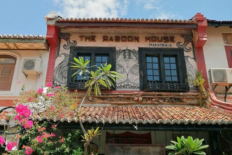 マラッカのバーガー屋さん The Baboon House(ザ バブーンハウス)
