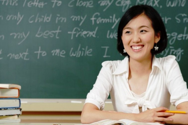 Teacher in English language school