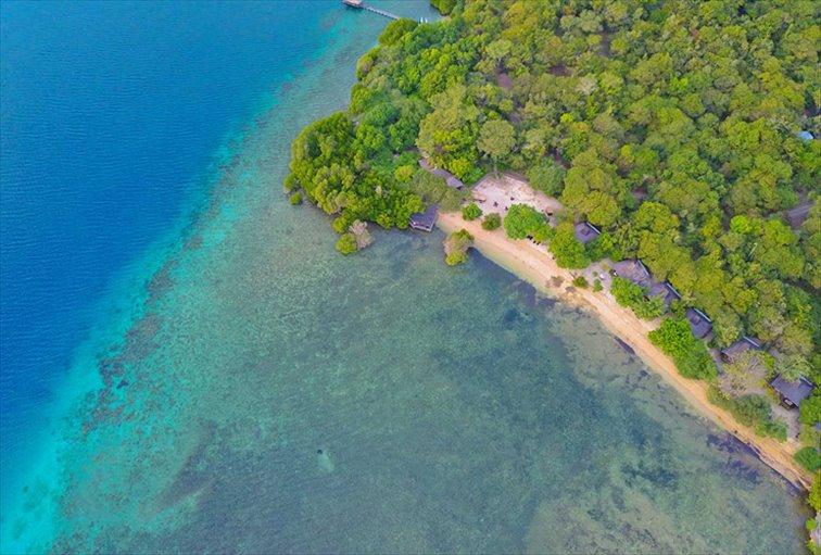 保護された海と森に囲まれたザ・ムンジャンガン