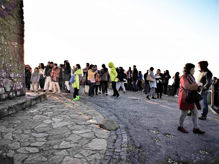 ポルトガル ロカ岬 夕陽