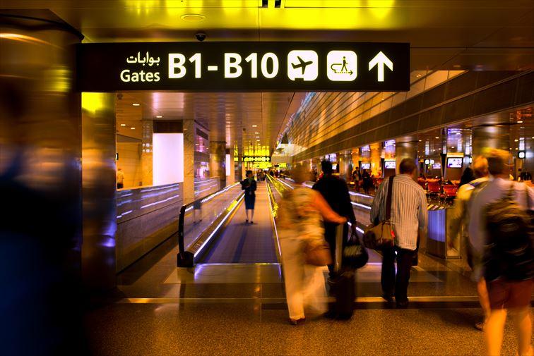 カタールの首都ドーハにある「ハマド空港」
