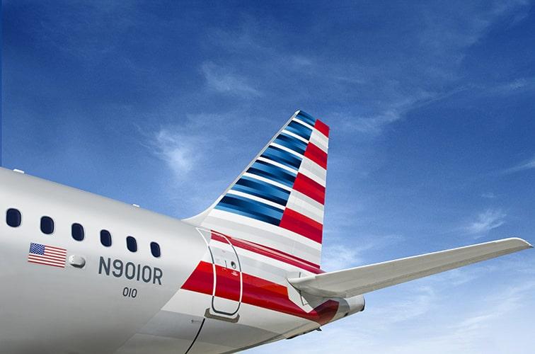 アメリカン航空の機材