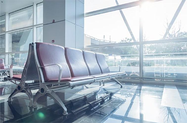 空港内のイメージ