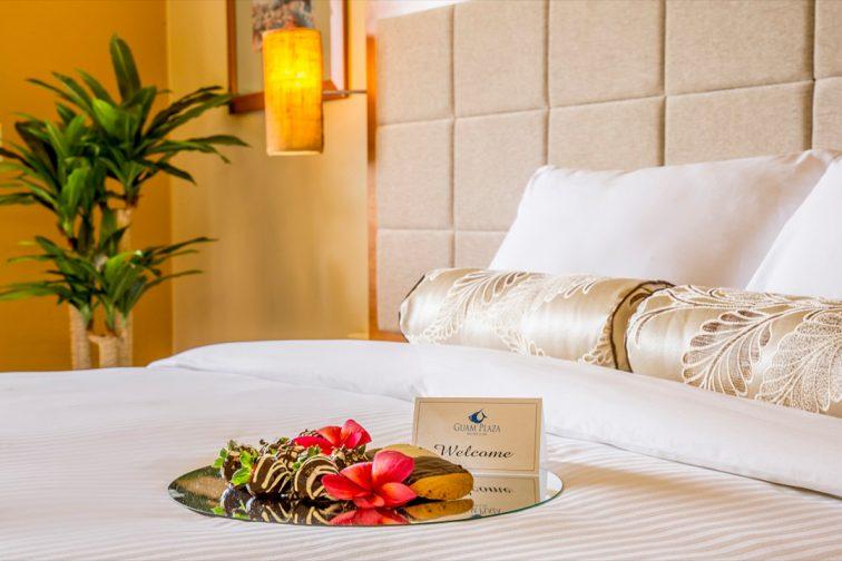 guam plaza hotel room