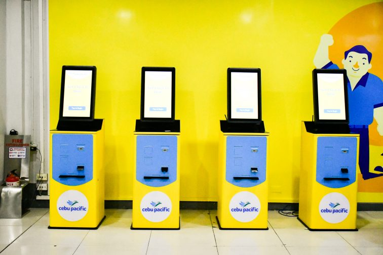 cebu pacific checkin counter