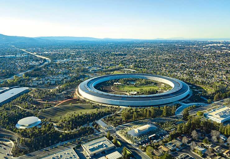2017年に完成したアップルの新本社:Apple Park(アップルパーク)