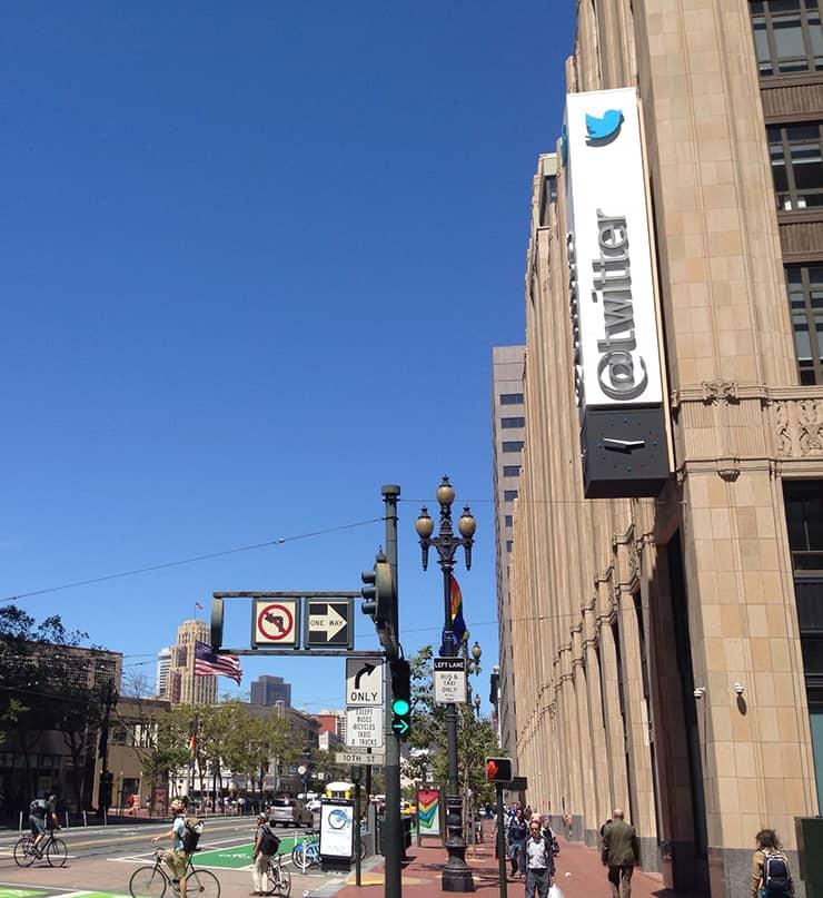 Twitter本社
