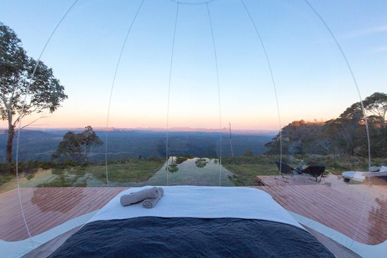 視界のひらけたパノラマ眺望 Credit:Mayumi Iwasaki