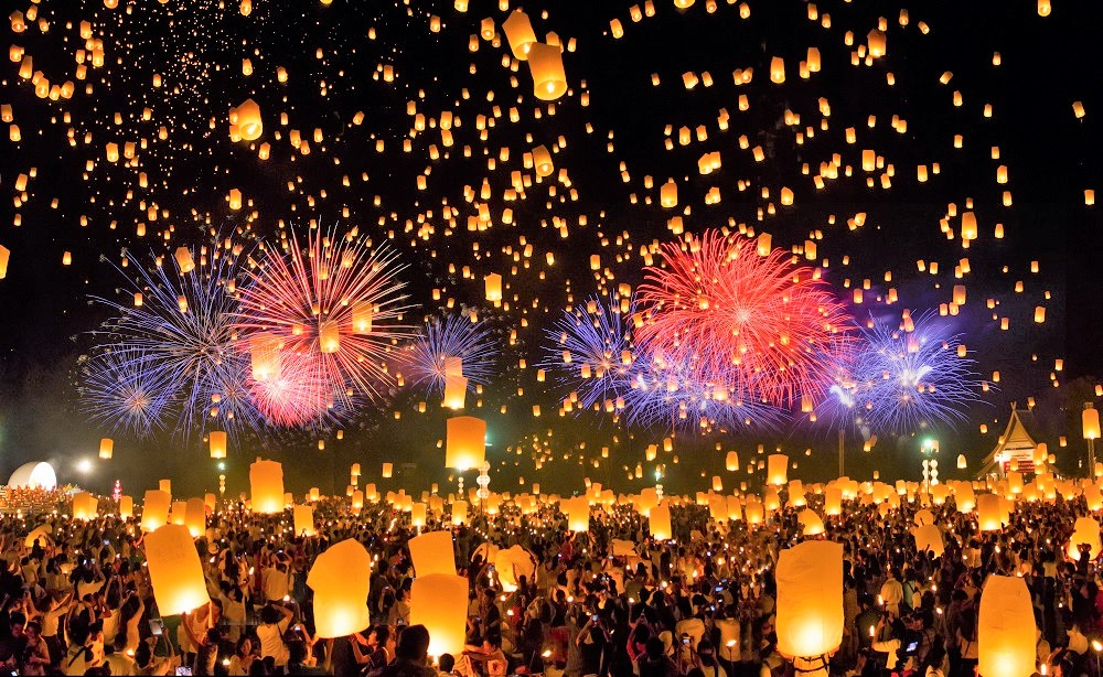 コムローイ祭り2020チェンマイ