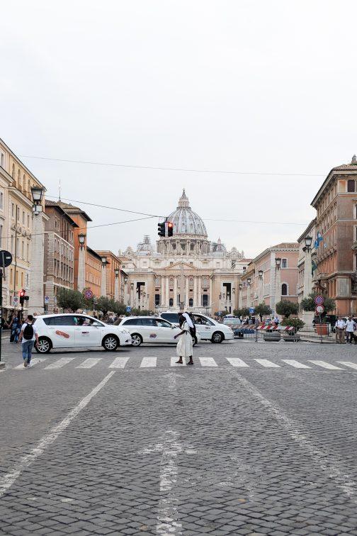 コンチリアツィオーネ通り ローマ イタリア