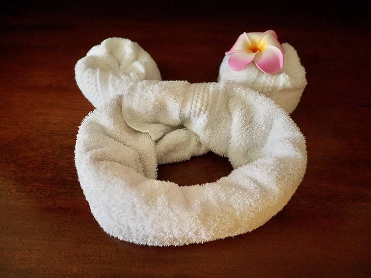 タオルまでミッキーの形に♪