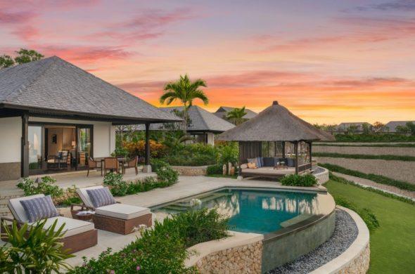 -- HEROSHOT - Ocean Pool Villa - During Sunset