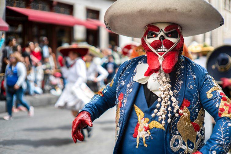 The Dead Are Alive 死者の日 Mexico City