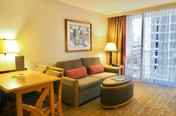 Embassy Resorts living room