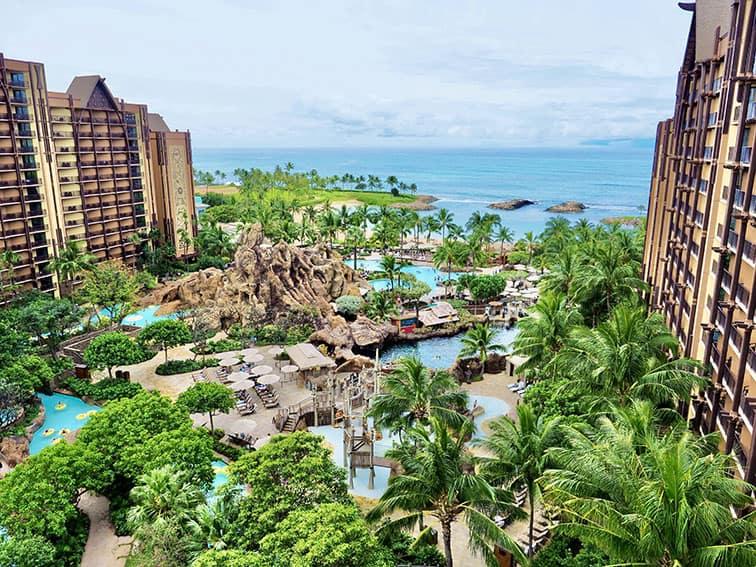 ハワイの美しさにうっとり