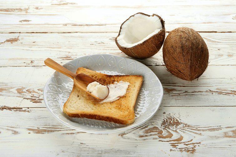 ココナッツオイル とパン