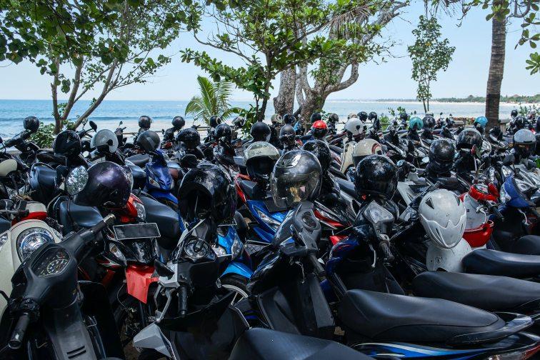 バリ島 バイク1