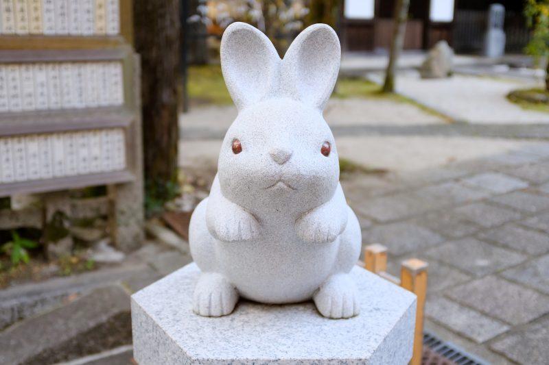 Okazaki shrine rabbit