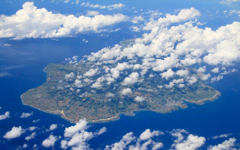 Beautiful,Ocean,And,Island,View,,Tokunoshima,Island,Near,Okinawa,From