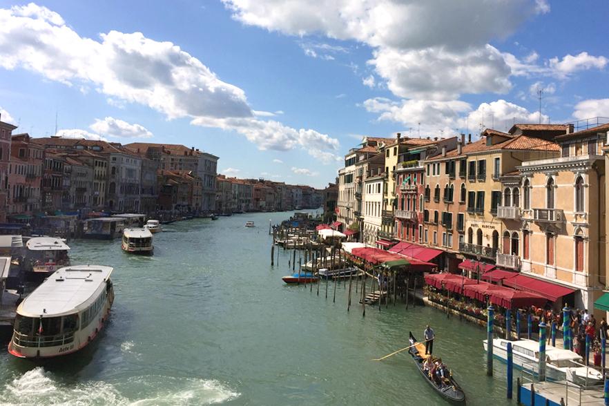 ベネチアの眺望