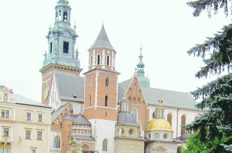 ワルシャワの街並