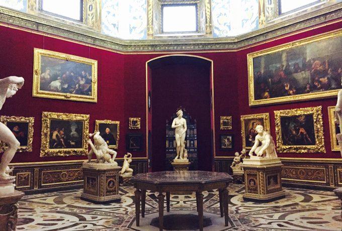 価値の高い美術品が数多くあるウフィツィ美術館