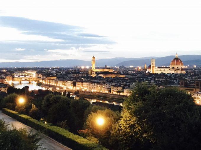 ミケランジェロ広場 夜景