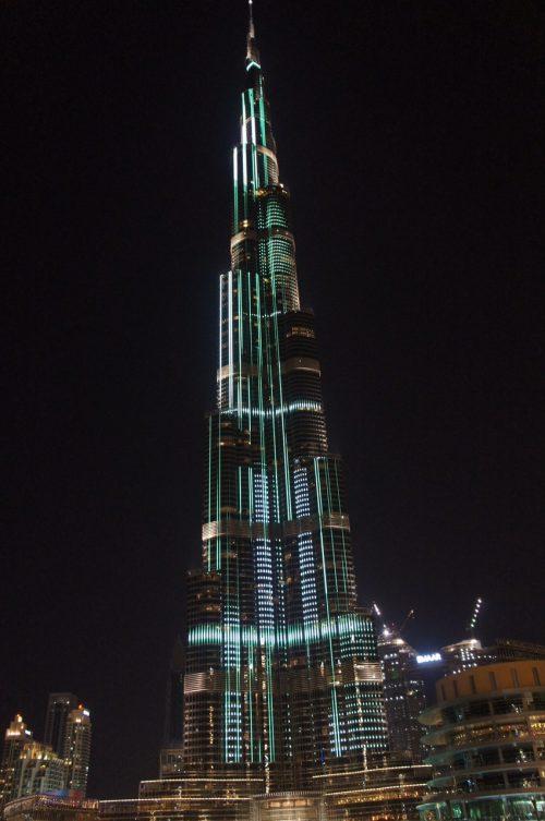 世界一の超高層タワー ブルジュ・ハリファ