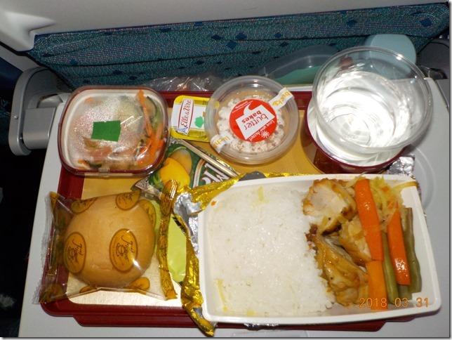 フィリピン航空の機内食