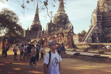 タイの歴史を感じたアユタヤ遺跡