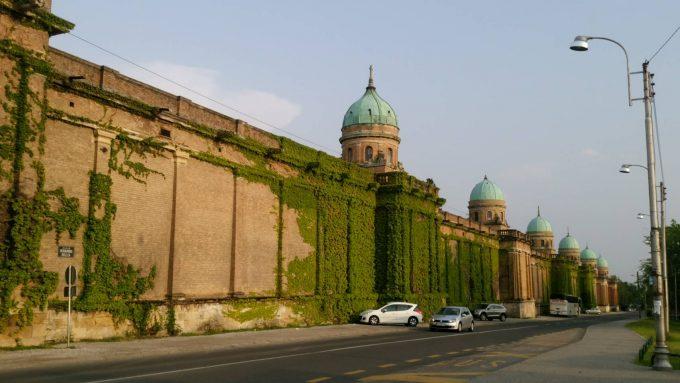 ミロゴイ墓地の壁もインパクトがありました。