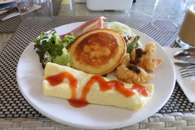 温かみいっぱいの朝食
