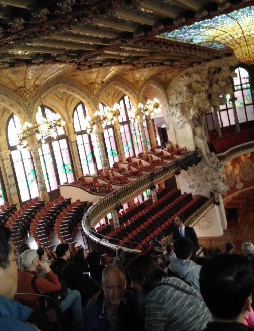 バッハに感動したカタルーニャ音楽堂
