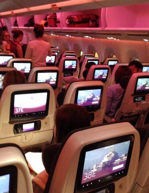 サービスも素晴らしいカタール航空