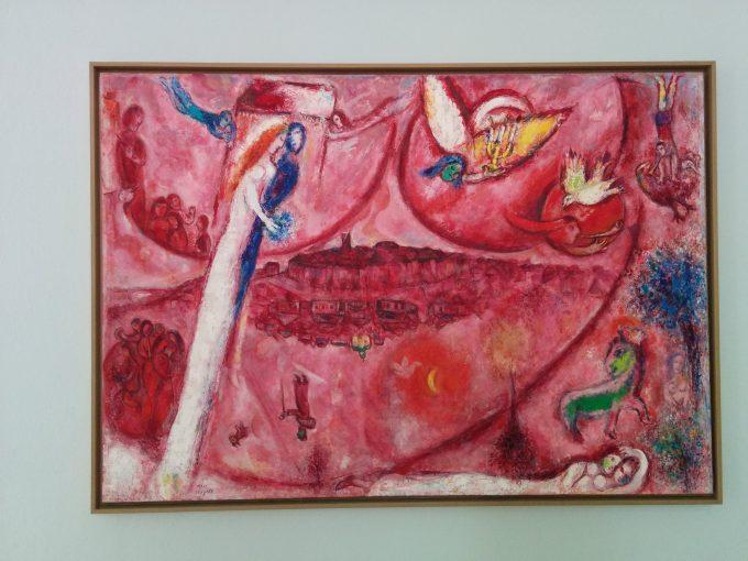 シャガール美術館絵画