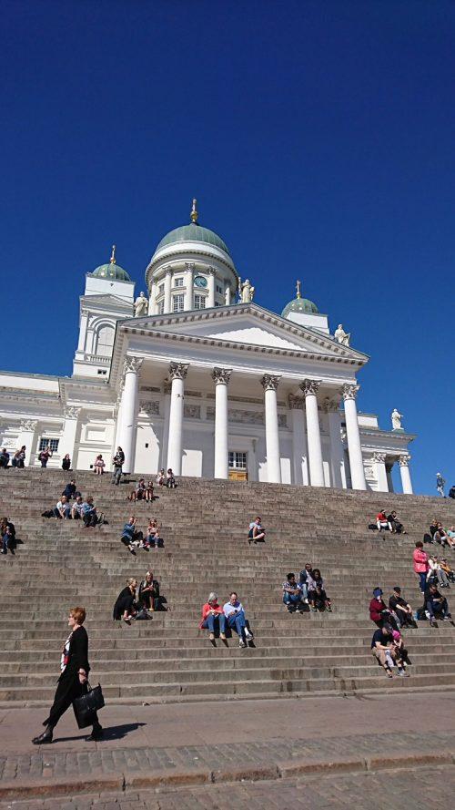 ヘルシンキ大聖堂の空気も、思い切り感じました