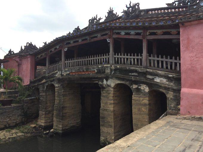 ホイアンの来遠橋(日本橋)