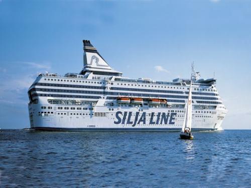 豪華客船「タリンクシリアライン」