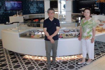 カタール航空のビジネスラウンジ1