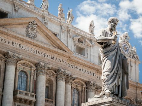 ローマ:サンピエトロ大聖堂(ヴァチカン)