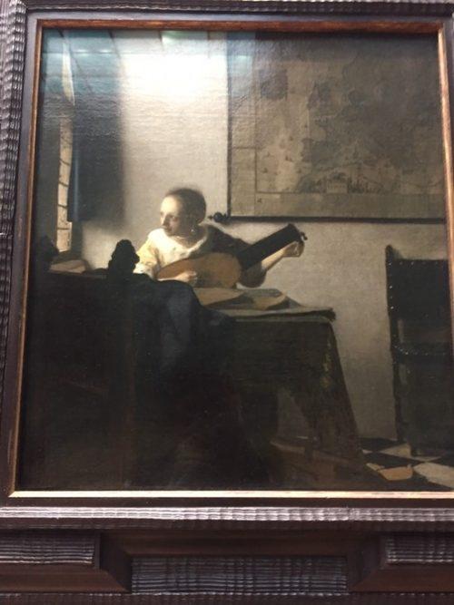 フェルメール『リュートを弾く少女』