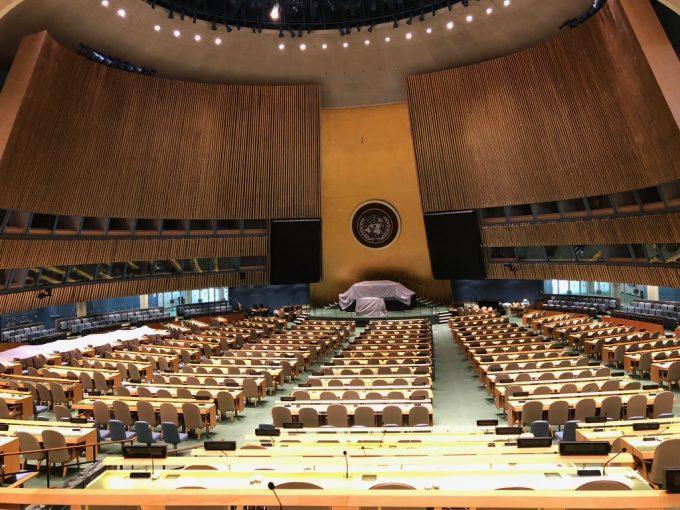 テレビや教科書でしか見ない国連
