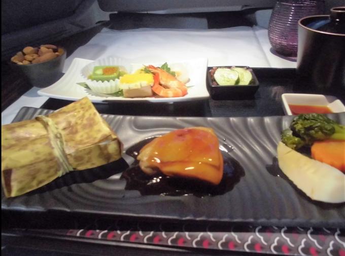 機内食の懐石料理