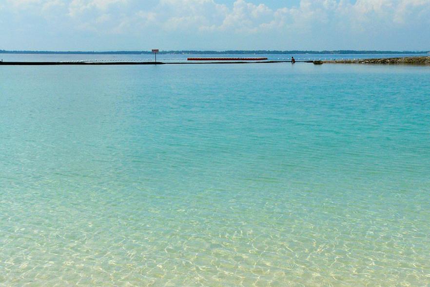 セブ島の海でリフレッシュ
