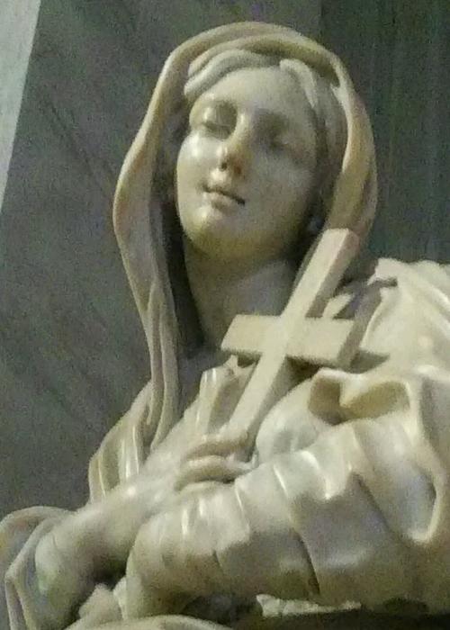 サンタ・マリア・マッジョーレ大聖堂のマリア像