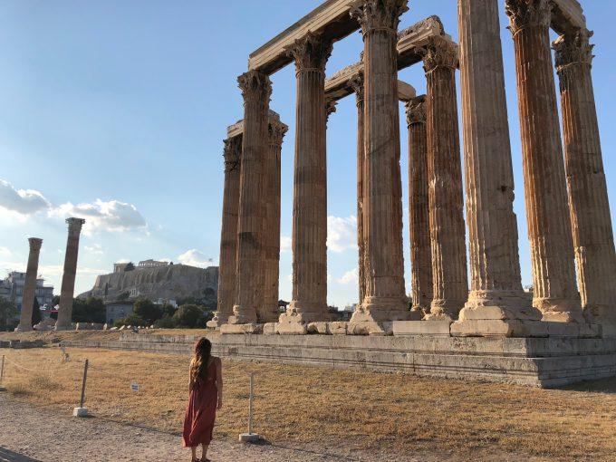 アテネ ゼウス神殿